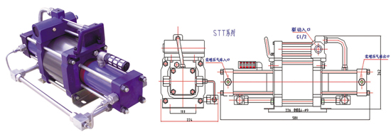 STT series gas compressor